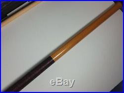 1989 McDermott Panther Pool Cue with Bag 19oz Pre-owned Free Shipping