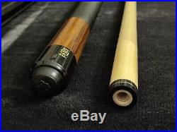 Collectible Retired McDermott Two-Piece M8F5 Billiard Pool Cue Stick with Case