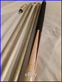 Custom Pool Cue, Leather Wrap, 3 Shafts, Custom 30 & McDermott i2, Balance Rite