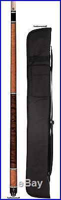 G230c3 Mcdermott Custom Madrone Burl + G-core Billiard Two Piece Pool Cue Stick