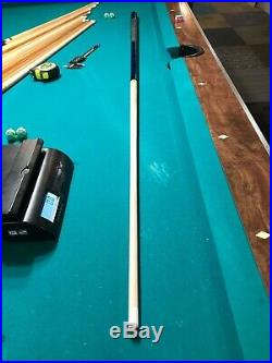 Genuine Mcdermott pool cue NEW test hit only! Beautiful Blue & Green