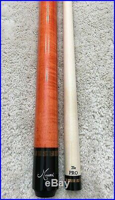 IN STOCK, Meucci ANW-1 Custom Hot Orange Pool Cue, FREE McDermott HARD CASE