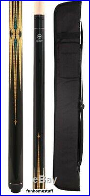 L38 Mcdermott Billiards Lucky Billiard Game Pool Cue Stick & Free Soft Case