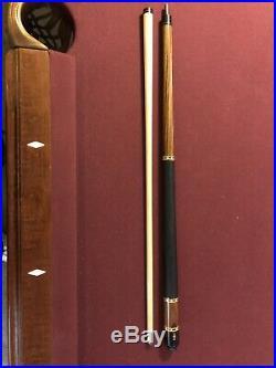 Lucasi Pool Cue L-2007 + McDermott M12k Gentry + Case
