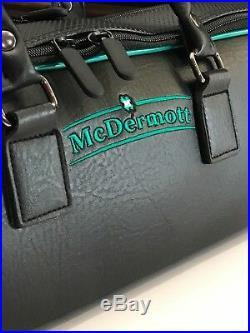 MCDERMOTT 4x7 HYBRID POOL CUE CASE 75-0925 BRAND NEW FREE SHIPPING FREE CHALK