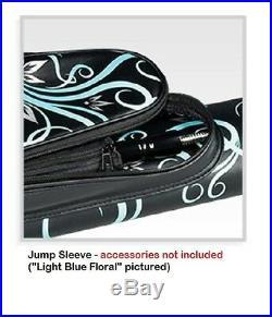McDermott 2x2 Designer Light Blue Floral Pool Cue Billiards Case FREE Shipping