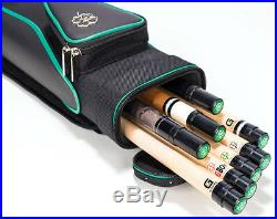McDermott 3x5 Sport Pool Cue Case Tournament Collection with FREE Shipping