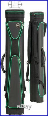McDermott 6x6 Sport Pool Cue Case Black