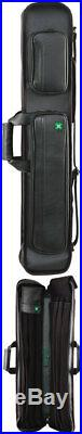 McDermott 75-0922 4x8 Soft Butterfly Style Pool Cue Stick Carrying Case