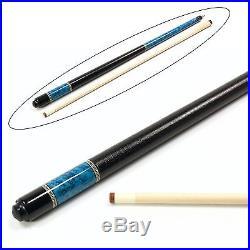 McDermott BLUE SHADOW Lucky Series American Pool Cue 13mm Tip