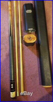 McDermott D-19 Pool cue with extra shaft rare supermac case way cool case 3