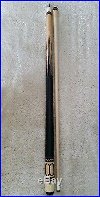McDermott D20 Pool Cue, Leather, Original Condition, Vintage D-Series 1984-1990