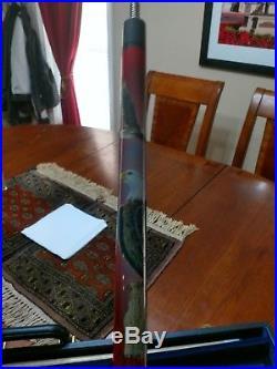 McDermott EL03 Red Bald Eagle Pool/Billiards Cue Stick. Rare & retired in 1995