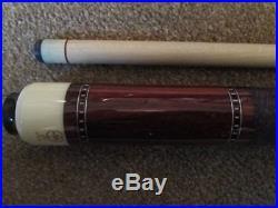 McDermott G-Core Pool Billiard Cue 581/4 inch 18 oz Near Mint FREE SHIPPING