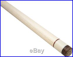 McDermott G-Core Pool/Billiard Cue Shaft 3/8x10 -Silver/White/Silver- 11.75mm