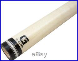 McDermott G-Core Pool/Billiard Cue Shaft 3/8x10 -Silver/White/Silver- 12.5mm
