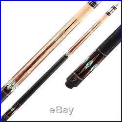 McDermott G-Series G802 Pool Cue Stick Intimidator Shaft FREE SOFT CASE