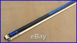 McDermott G201 Pool Cue Pacific Blue Stain G-Core Shaft FREE 1x1 Hard Case