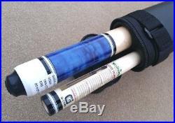 McDermott G230 Pool Cue Pacific Blue, Birds-Eye Maple, G-Core Shaft, Nav Blk Tip