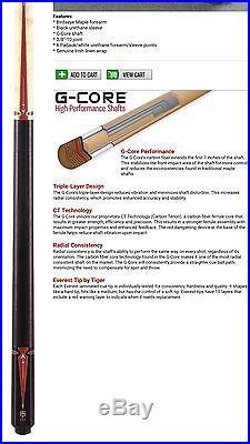 McDermott G409 G-Series (G-Core) Pool Cue NEW