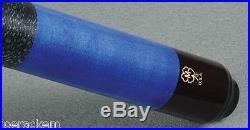 McDermott GS02 Pacific Blue Cue 12.75mm G Core Shaft Free 1x1 Hard Case