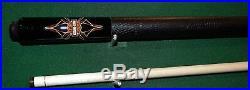 McDermott Harley Davidson Shield/Pinstripe Pool Cue Custom Billiards New Cue