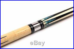 McDermott INLAYED SHAFT Hand Crafted G-Series American Pool Cue 13mm tip G605