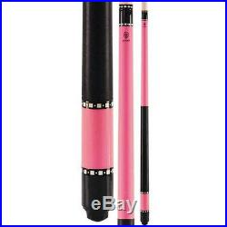 McDermott Lucky Pool Cue L13 Billiards Pool Cue Pink FREE SHIPPING & CASE