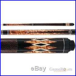 McDermott Lucky Pool Cue L33 Billiards Pool Cue Black FREE SHIPPING & CASE