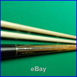 McDermott M29C Sexton Pool Cue with 2 Shafts, excellent condition Ebony & Abaloe
