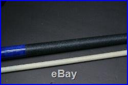 McDermott PACIFIC BLUE Hand Crafted GS-Series American Pool Cue 20oz GS02