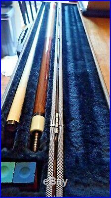 McDermott Pool Cue Billiards Sticks with Hard Case