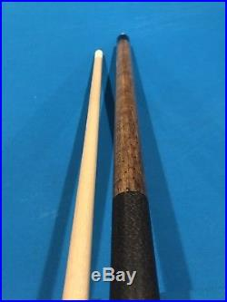McDermott Pool Cue Double Wash Grey And Natural Walnut Free Case, Upgraded tip