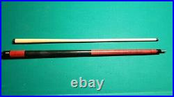 McDermott Pool Cue E-B5 Red Vintage Pool Cue Good Condition BE1