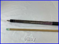 McDermott Pool Cue Stick Purple With Inlays (needs Tip)