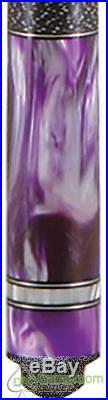 McDermott SP10 Star Pearl Pool Cue Purple withFREE CASE