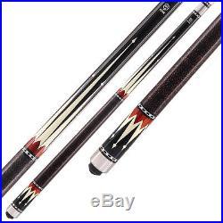 McDermott Star Pool Cue Stick S31 Black 18 19 20 21 oz With FREE CASE