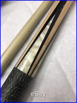 McDermott Star Series Pool Cue White Pearl Inlays Premium