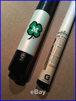 McDermott TRFRMCD-G White Clover Pool Cue with G-Core Shaft with FREE Case