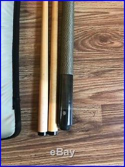 McDermott Titanium Color 2 shafts Pool Stick Billiards Cue