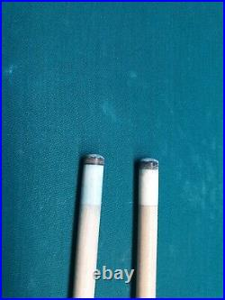 McDermott g-229 pool cue with two shafts. 3/8 x 10 joint