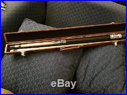 Mcdermott Collector's Vintage 1970's pool cue with Hard Case