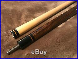 Mcdermott Ef-1 Pool Cue Stick Leather Wrap Very Good Condition