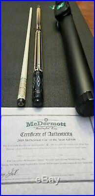 Mcdermott G1308 Limited 6/100 pool cue 19oz. I2 Shaft Navigator Tip FREE case