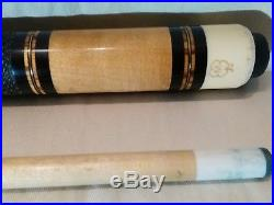 Mcdermott M43A Tucson Pool cue 2004-2009 Nice Wood and Metal Detail Inlays