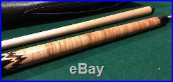 Mcdermott M7-06 Peak Pool Cue Stick Excellent Condition Unusual Inlays