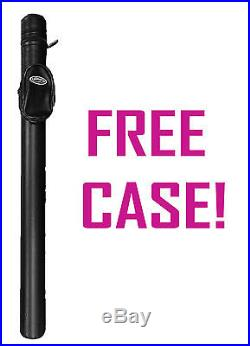 Mcdermott Pool Cue G204a 19 Oz Brand New Free Shipping Free Hard Case