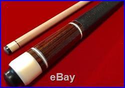 Mcdermott Pool Cue Stick G-core Mint G224 Custom Leather Wrap
