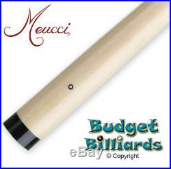 Meucci Black Dot Pool Cue shaft for McDermott 3/8 x 10 with Med Ultra Skin