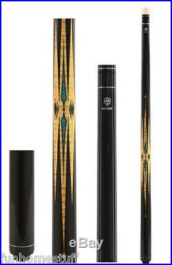 NEW MCDERMOTT LUCKY L38 Multi-Color Two-piece Pool Cue Stick & FREE Soft Case